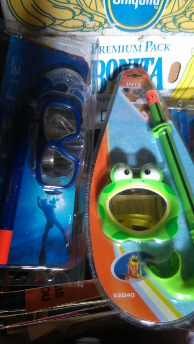 шнорхел и маска за гмуркане