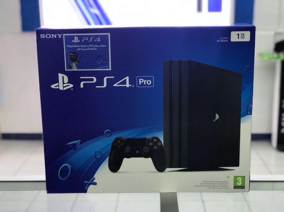 PS4 pro 1terra novo selado na caixa