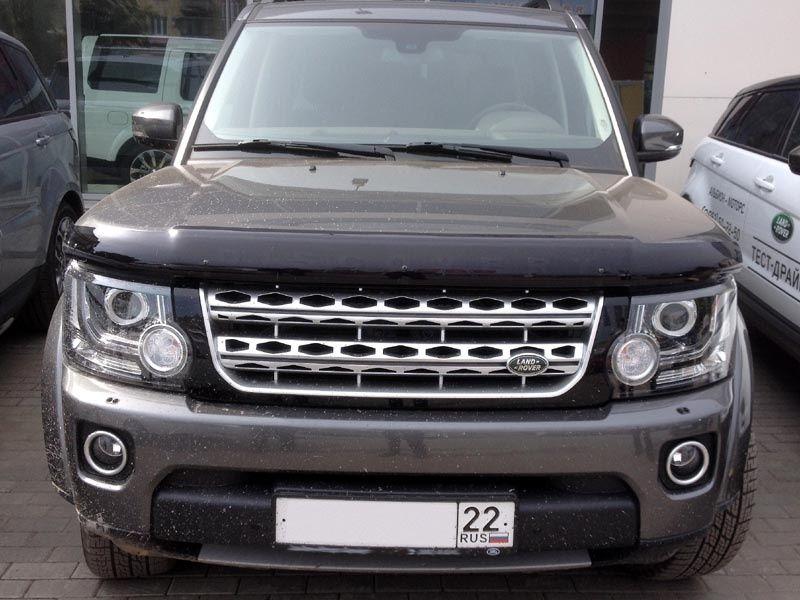 Мухобойки на Land Rover
