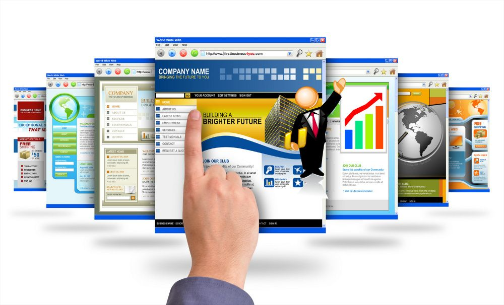Cria um site para a sua Empresa ou Negócio