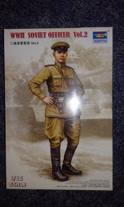 macheta 1/16 Trumpeter 00703 WW2 Soviet Officer Vol2