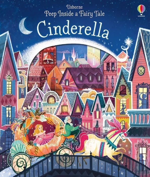 Peep Inside a Fairy Tale Cinderella Cenusareasa Usborne Engleza