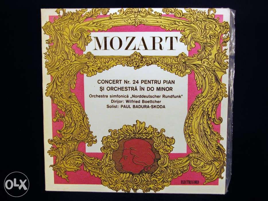 Disc Vinil pik-up MOZART Concert Nr.24 pian & orch - Electrecord 1984