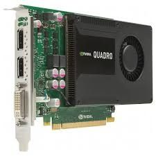 Vand placa video Nvidia quadro K2000/2g ddr5/128biti/testata/pci-e
