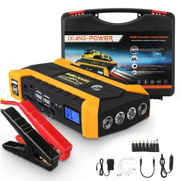 Външна батерия Jump starter Power Bank и бустер стартер за автомобили
