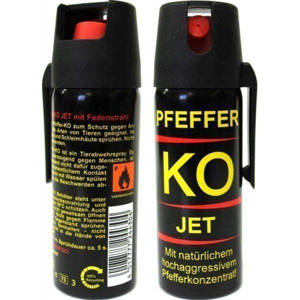 Spray Paralizant Pfeffer KO Jet Germania Original Auto-aparare Piper