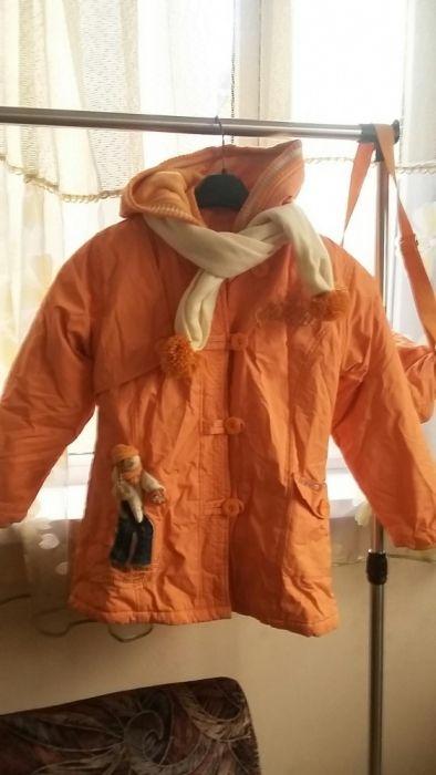 Продам куртку для девочки четыре вещи в одной совершенно новая