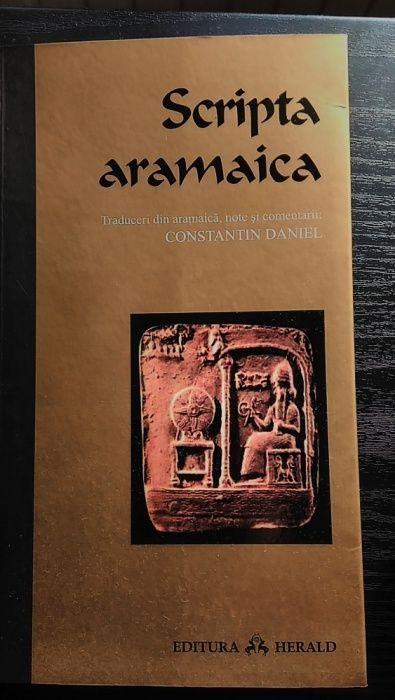 Scripta aramaica, de Constantin Daniel