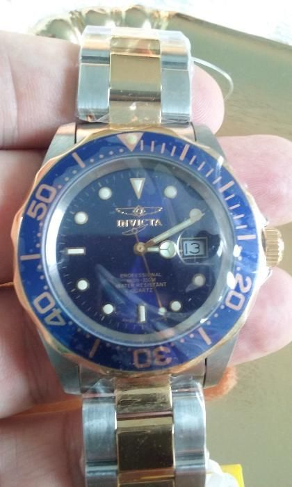 Ceas Invicta 9310 Men's Pro Diver Swiss Blue Dial