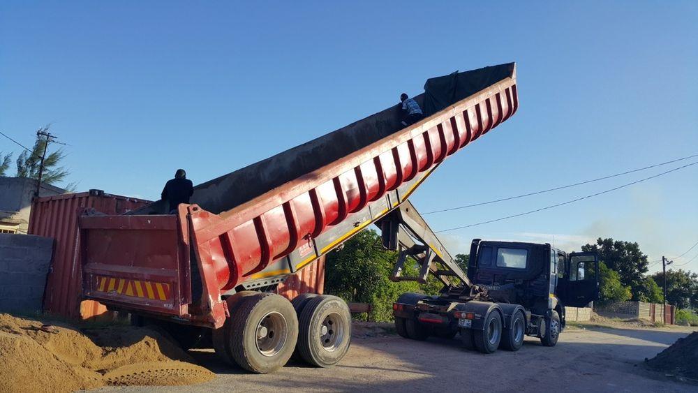 Camião de 55toneladas basculante pronto a usar