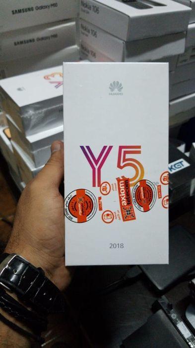 Y5 prime 2019 na caixa com todos acessórios