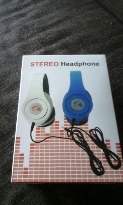 Casti stereo Kingstone albastre