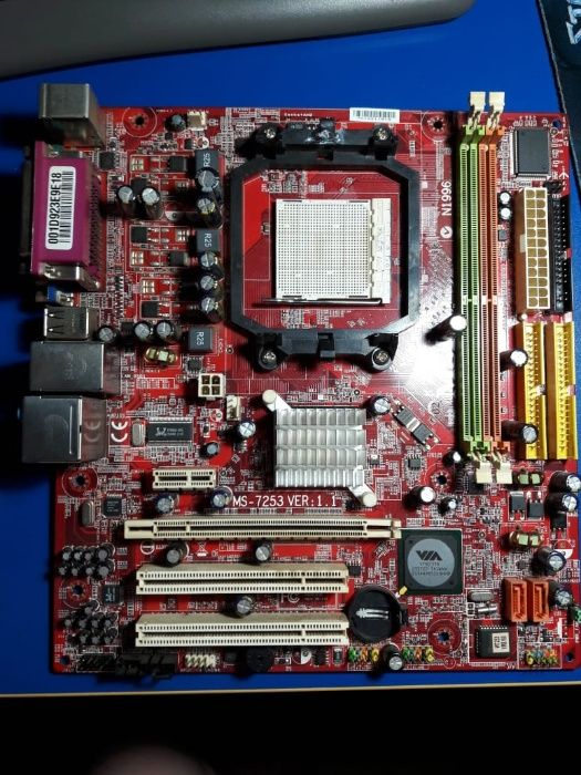 продам материнскую плату MSI K9VGM-V