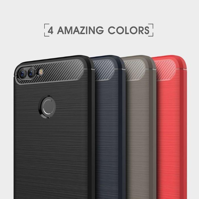 RUGGED ARMOR силиконов калъф кейс мат за Huawei P Smart