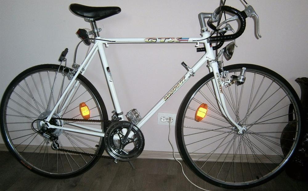 bicicleta cursiera 10 viteze, frane Winemann,roti Rigida 28, schimb