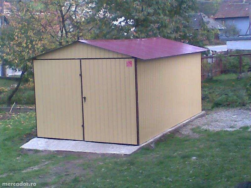 OFERTĂ:Garaj metalic colorat,