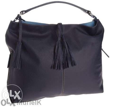 Loxwood Cameron Jaïpur тъмносиня чанта от естествена кожа