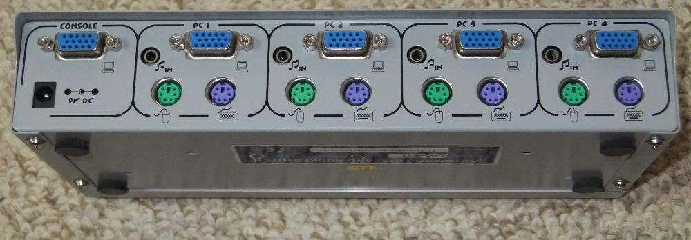 KVM Switch Gembird CAS-441