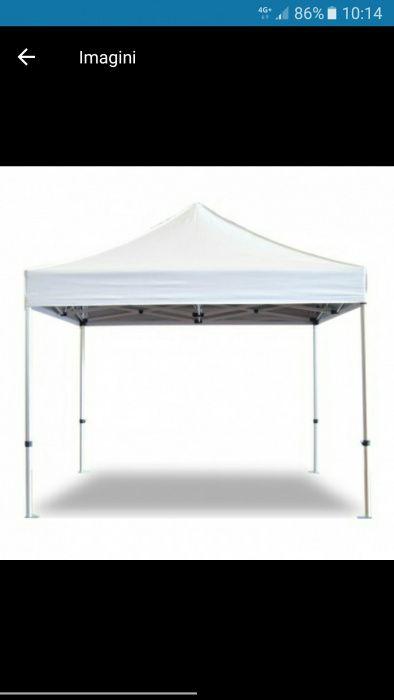 Pavilion cort foișor pliabil 3 x 3 pentru Targuri, Evenimente, Piata