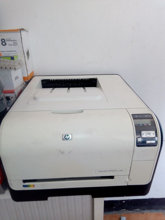 Impreso Hp CP 1525 a cores laserjet pronto a usar bom e funcional