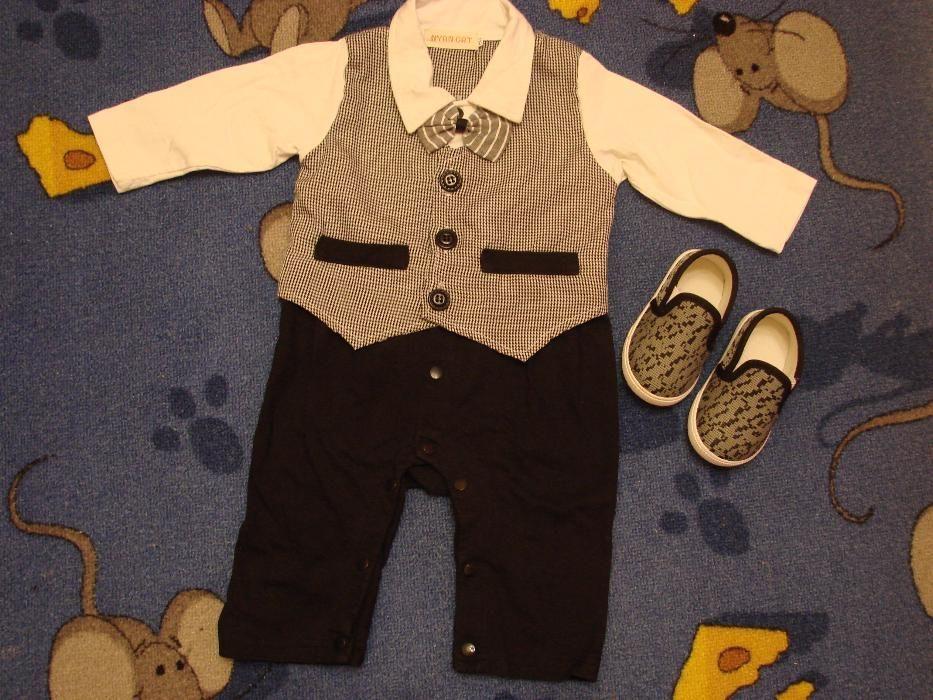 Детский костюмчик с мокасинами.