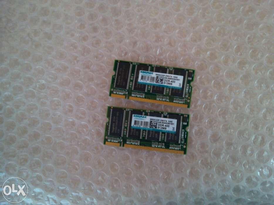 Memorii ram laptop 512mb