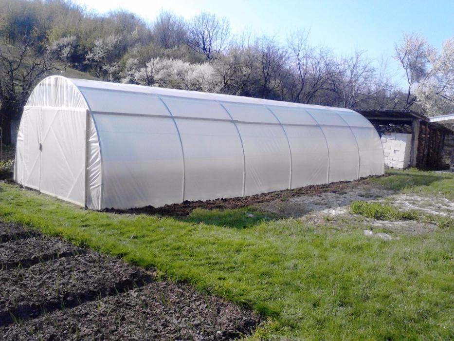 solar legume Mini-Home KS 12 m lungime x 4 m latime x 2.6 m inaltime
