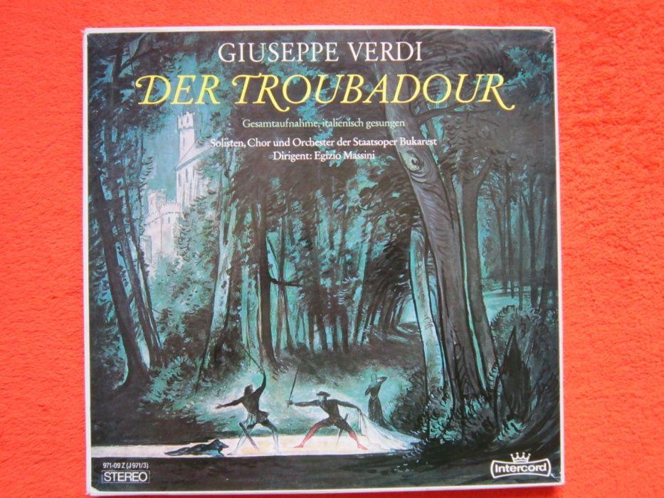 vinil Verdi-Il Trovatore 3LP(in Italiana)Solistii,Corul,Orch.BucurestI