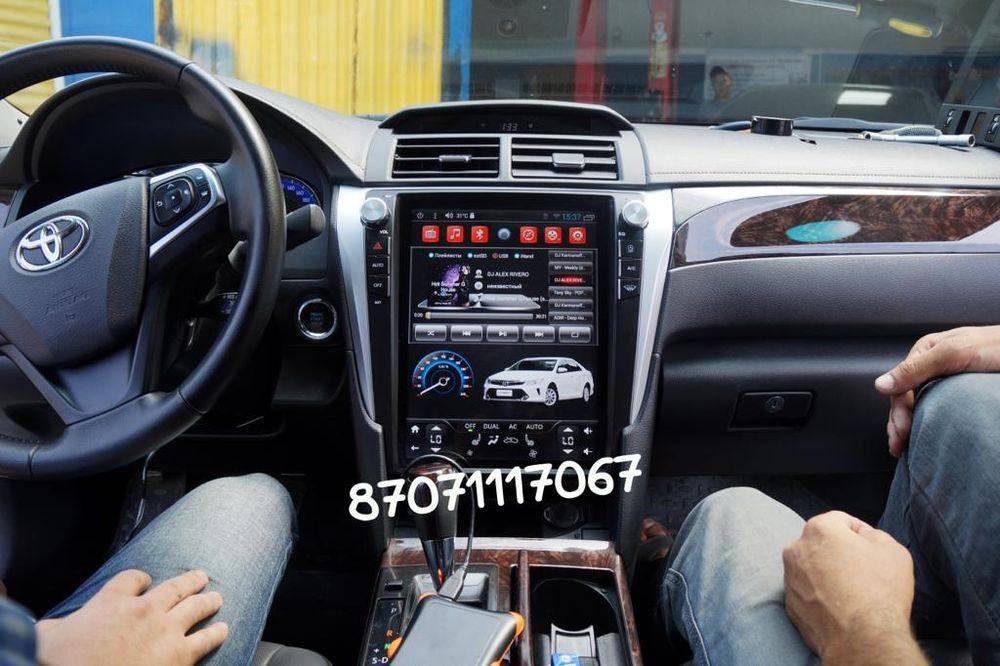 Автомагнитолы Тесла/Tesla для Toyota/Subaru/Mitsubishi DSK/RedPower