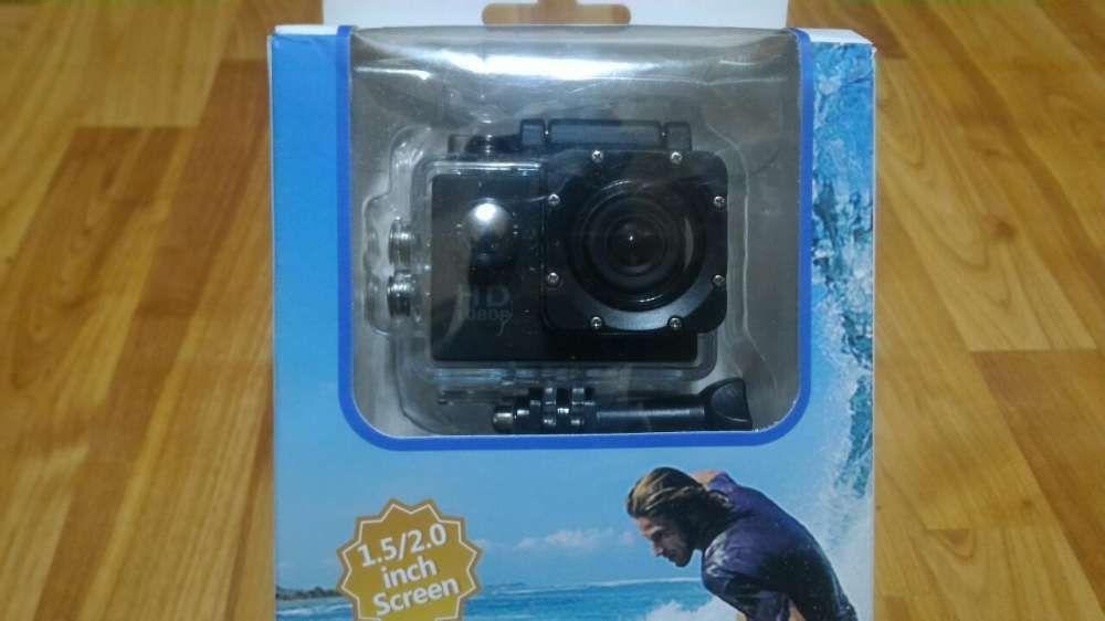 Action camera UltraHD +2baterii + incarcator