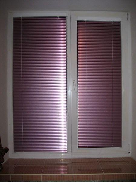Горизонтальные алюминиевые жалюзи на пластиковые окна от 5000