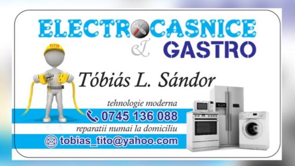 Reparatii electrocasnice/frigidere/masini de spalat/cuptoare/plite..