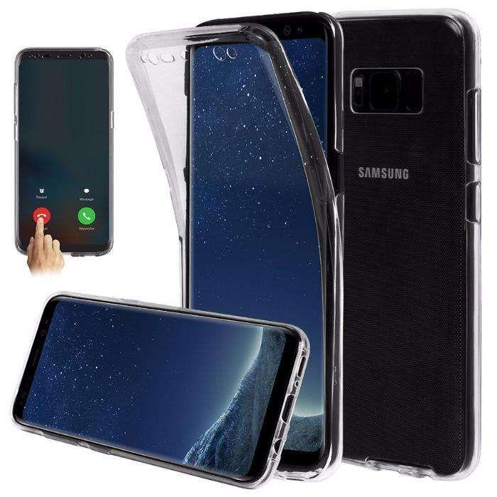Samsung Note 8 - Husa 360 Din Silicon Fata Spate Transparenta