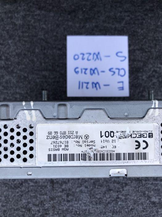 Amplificator sunet Mercedes E w211, CLS W219 , S w220