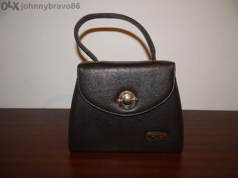 Чанта дамска тъмно кафява