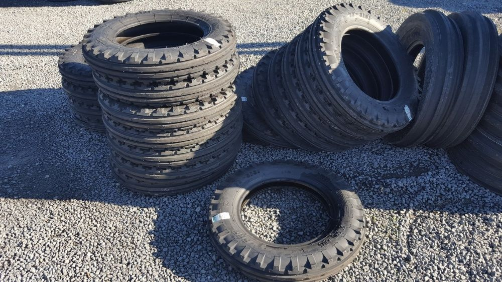 Cauciucuri noi 5.50-16 cu 6 pliuri anvelope de tractor fata R16 Oradea - imagine 1