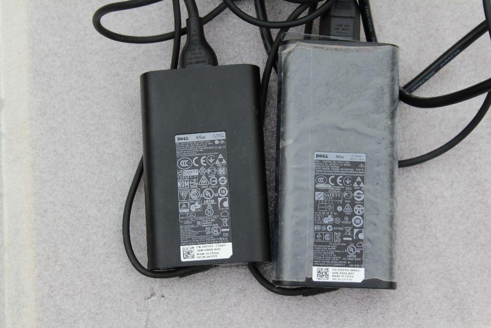 Incarcatoare originale laptop Dell 19.5V 65w si 90w slim,
