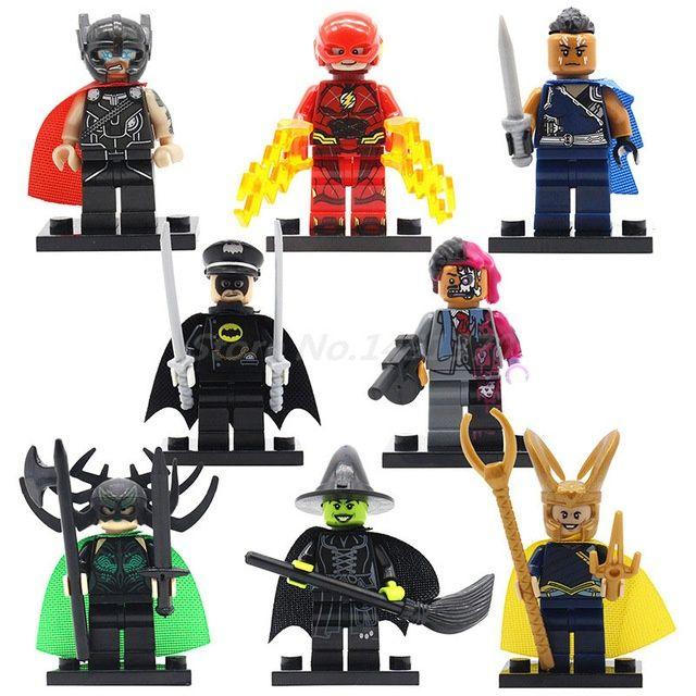Set 8 Minifigurine tip Lego Super Heroes cu Thor