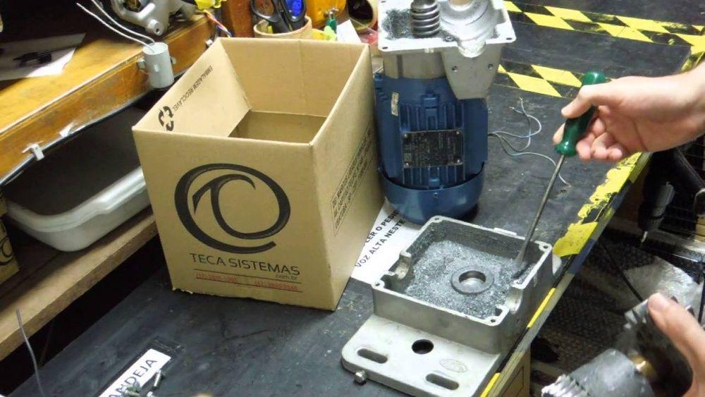 Reparo de motor de portão automático