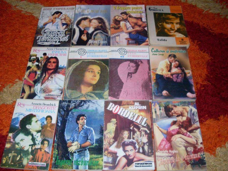 Colectie carti de dragoste ,42 buc