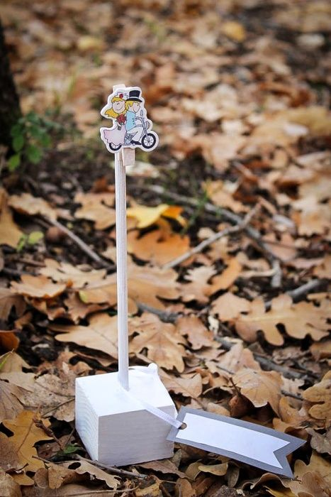 Ръчно изработена дървена стойка за снимка/поставка за тейбъл картичка гр. Асеновград - image 2
