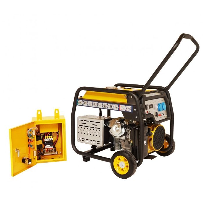 Generator open frame Stager FD 10000E+ATS - Automatizat Putere 8kW. Mogosoaia - imagine 3