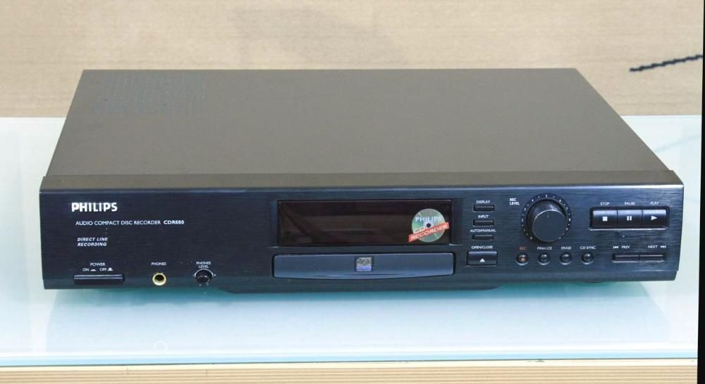 Vand cd recorder Philips cdr 880