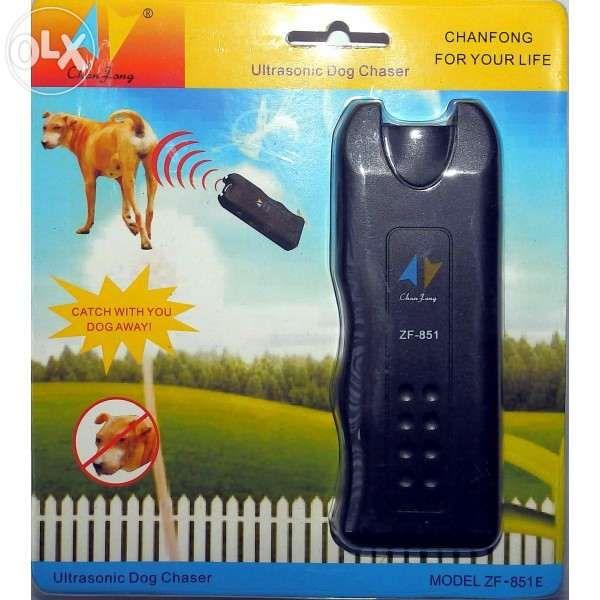 Кучегон ултразвуков + фенер Ultrasonic Dog Chaser ZF-853 гр. София - image 2