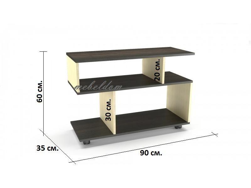 Тв шкаф/маса или холна маса на колелца(код-3069) гр. Варна - image 5