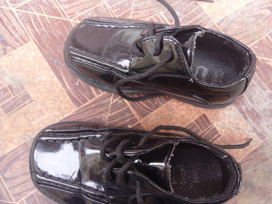pantofi de lac negrii