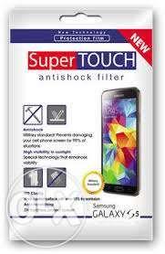 Folie Protectie Display/Ecran Samsung S5 G900 SuperTOUCH Antishock
