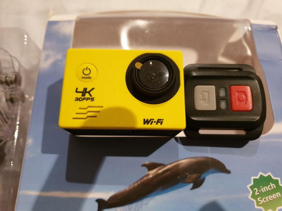 Máq. de filmar nova 4K (gopro)