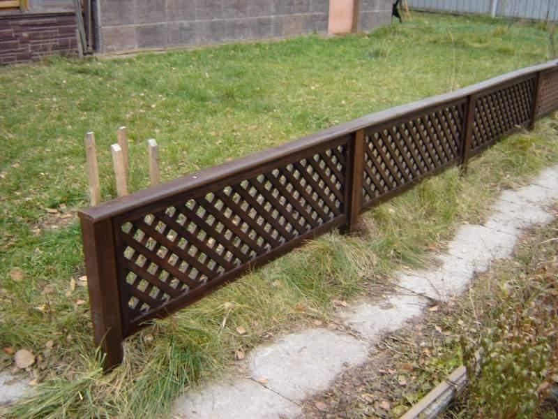 Декоративный забор штакетник евроштакетник ограждения