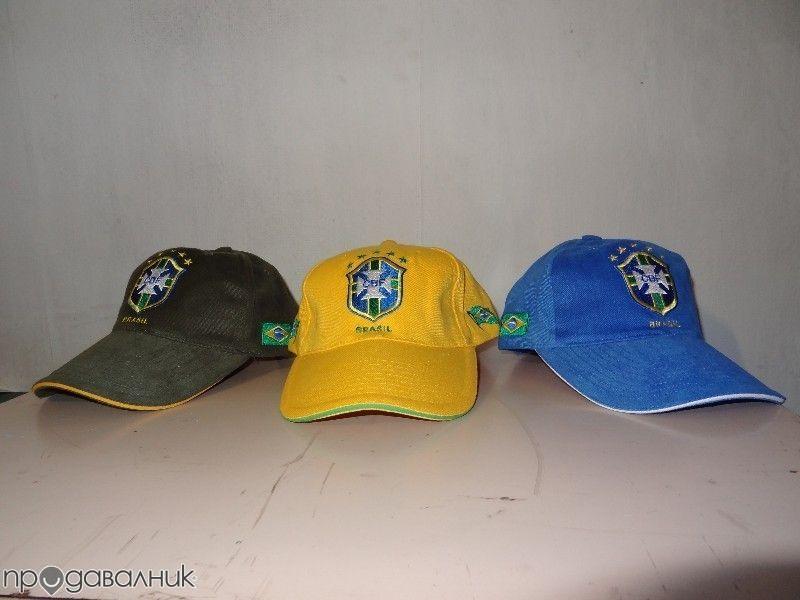 Шапки футболен отбор Бразилия